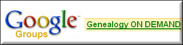 Google Group Genealogy ON DEMAND